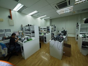CAMERA,LENS REPAIR DEPT@1ST FLOOR